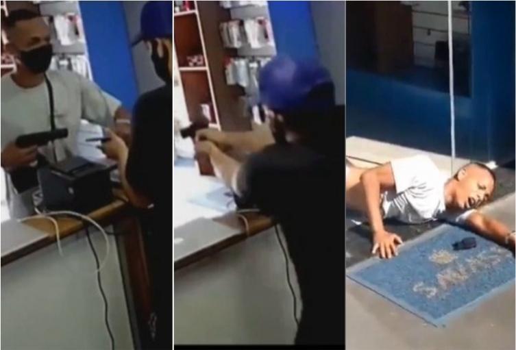 Hieren a ladrón en Brasil