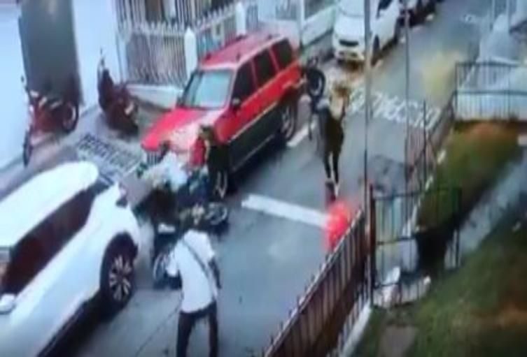 Hombre detiene robo en Pereira