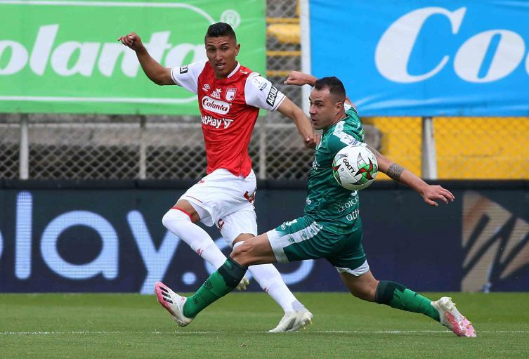 La Equidad vs Santa Fe; Liga Betplay 2021