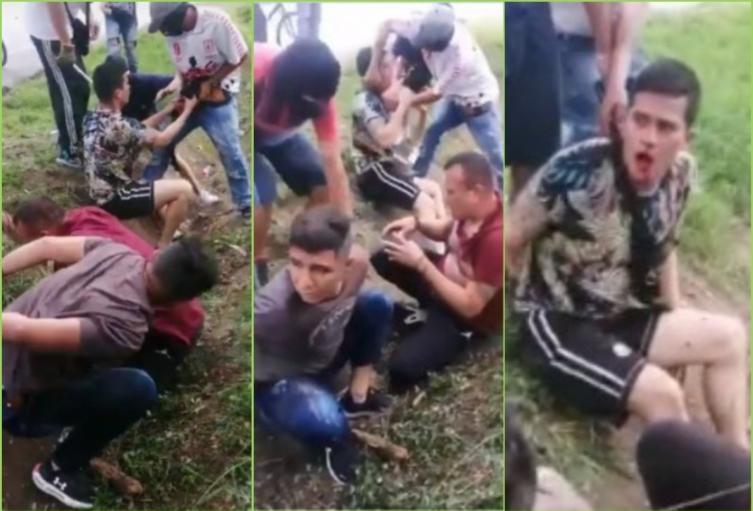 Secuestraron y golpearon brutalmente a diez agentes del Esmad