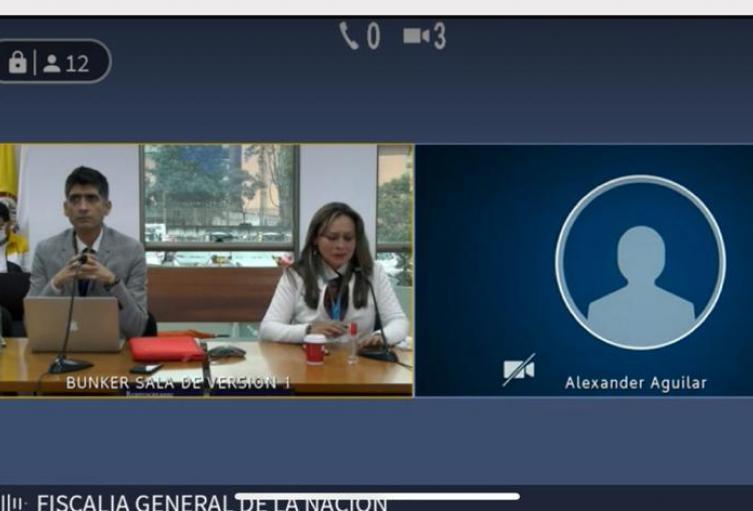 Alba Lucía Reyes, mamá de Sergio Urrego en medio de la audiencia pidió proteger a los niños, niñas y adolescentes diversos