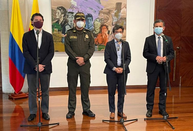 Anibal de Soto nuevo secretario de seguridad de Bogotá