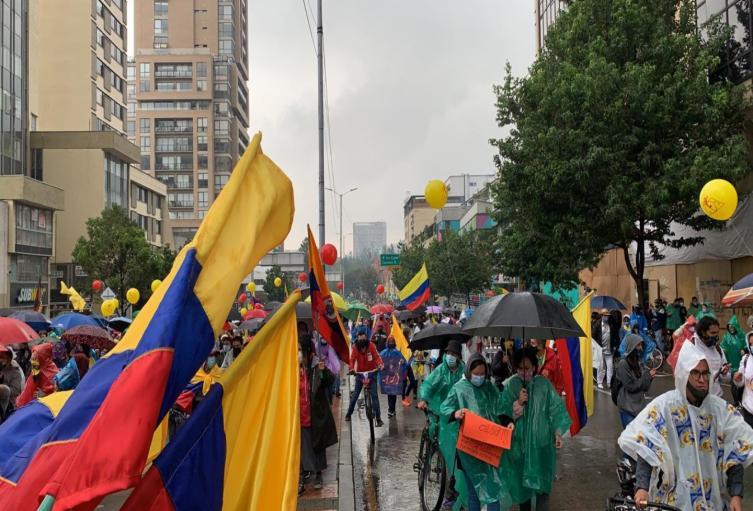 Protestas en Bogotá para el 09 de junio