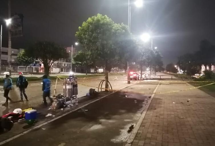 Joven murió en medio de las manifestaciones en Suba