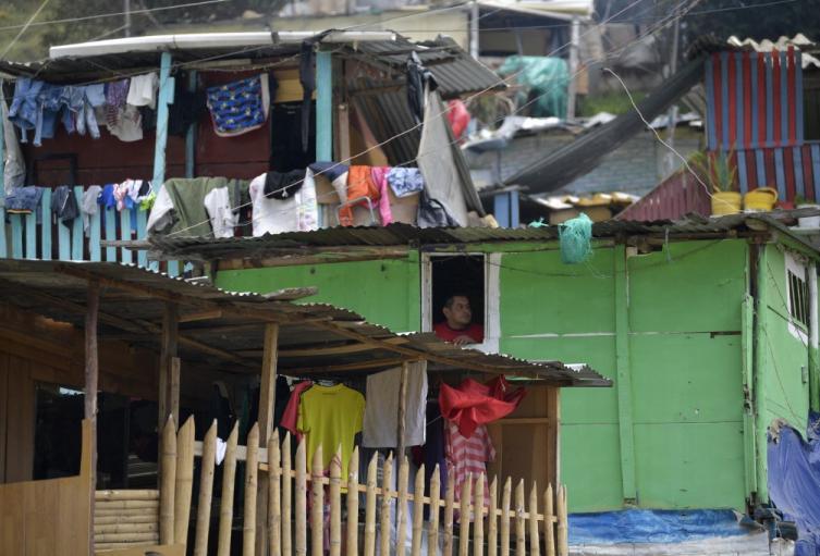Pobreza en Bogotá