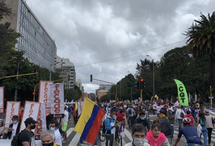 Protestas 20 Julio Bogotá