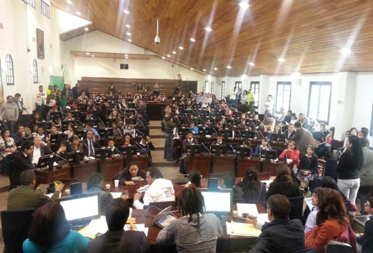 Plenaria del Concejo de Bogotá