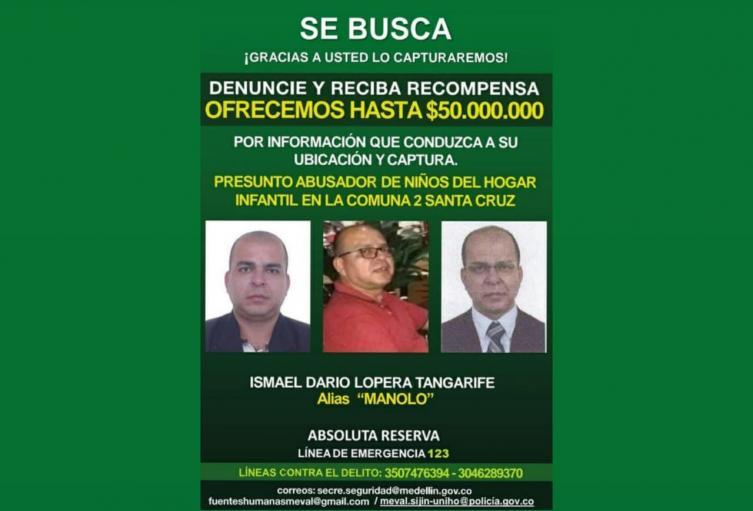 """""""llevamos tres allanamientos en Medellín para encontrar alias Manolo"""": Policía"""