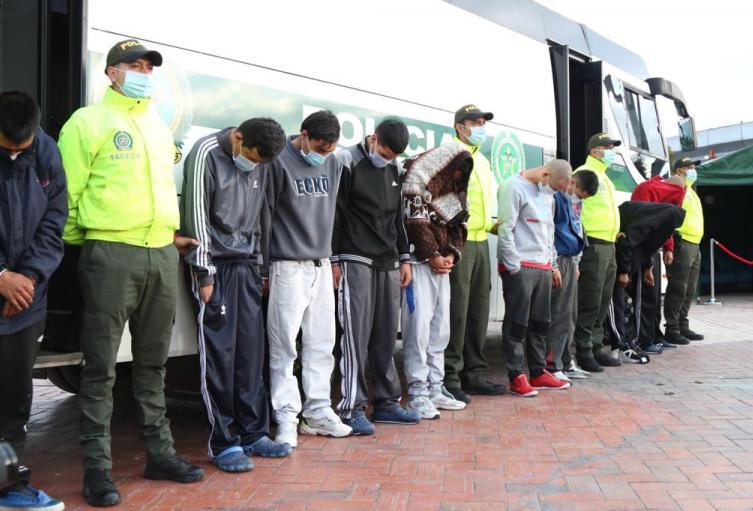 Bandas desarticuladas en Bogotá
