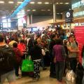 En 2018, Bogotá tuvoun crecimiento notable en la llegada de turistascon respecto a los cuatro años anteriores.