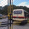 Los delincuentes quemaban los buses de las empresas que no pagaban las 'vacunas'.