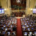 El Congreso de la República, en Bogotá