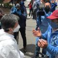 Claudia López visitó la localidad de Antonio Nariño, en alerta por aumento de contagios de COVID-19