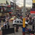 Vendedores en el sector de San Victorino, en Bogotá