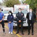 Entrega de ambulancias en Cundinamarca