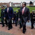 Presidente Iván Duque y Carlos Holmes Trujillo