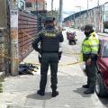 Perro muerto en Bogotá
