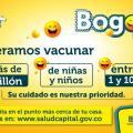Vacunación contra el sarampión y la rubéola en Bogotá