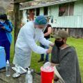 Jornada de vacunación en Bogotá