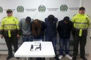 Detenida banda delincuencial en Bogotá