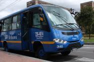 Bus del Sistema Integrado de Transporte Público (SITP).