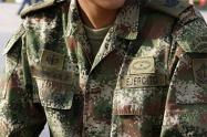 Soldado del Ejército Nacional