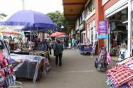 Vendedores informales en Bogotá