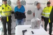 Delincuentes capturados por hurto