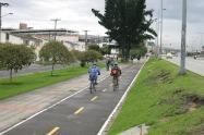Ciclorruta en Bogotá