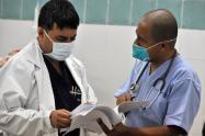 Consultas médicas en urgencias.