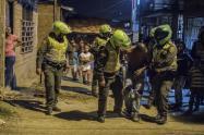Operativos policiales en Colombia