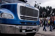 Paro camionero en Bogotá