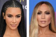 Kim Kardashian y Jennifer López
