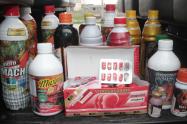 En total fueron 65 unidades de productos afrodisíacos los decomisados, comercializados en zonas cercanas a los moteles de la ciudad.