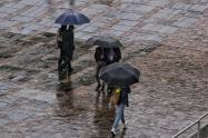 Lluvias en Bogotá