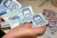 Foto de referencia de pesos colombianos