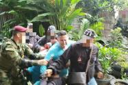 El capturado tiene antecedentes por tráfico de armas.