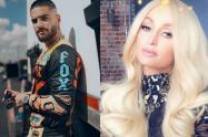 Ambas celebridades estuvieron presentes en el New York Fashion Week.