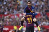 Lionel Messi - Barcelonna vs Sevilla, Liga Española