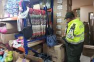 policía contrabando