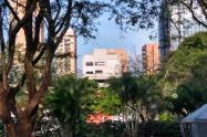 Edificio Mónaco en Medellín.