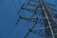 Torres de energía en Caracas