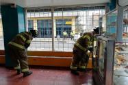 Explosión en panadería de Chapinero