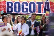 Claudia López lanzó su campaña a la Alcaldía de Bogotá