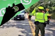 Grupos de WhatsApp para evadir retenes