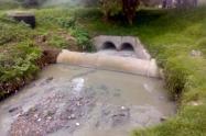 Contaminación en humedal Juan Amarillo