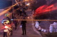 Homicidio en el barrio El Progreso