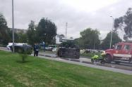 Accidente de tránsito en la calle 26
