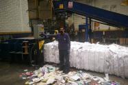Bodega de reciclaje