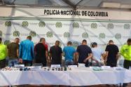 Policias capturados Pereira
